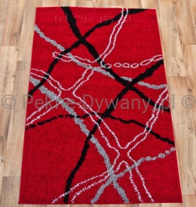Dywan 5700 RED BLACK Sophia