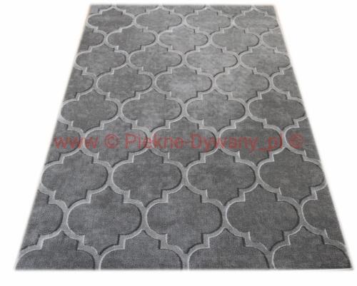 Dywan Elite 17391 Grey Sklep Piękne Dywany Wełnianenowoczesneszare